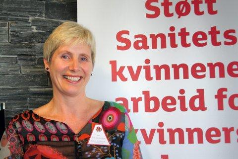 PÅ DAGSORDENEN: Sør-Odal sanitetsforenings leder Ann-Kristin Aurland vil sette kroppsfokus og aldring på dagsordenen.