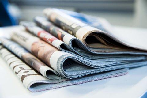 Forsinket: På grunn av vanskelige kjøreforhold på mange av budrutene vil mange abonnenter oppleve forsinkelser på avisleveringen i dag.