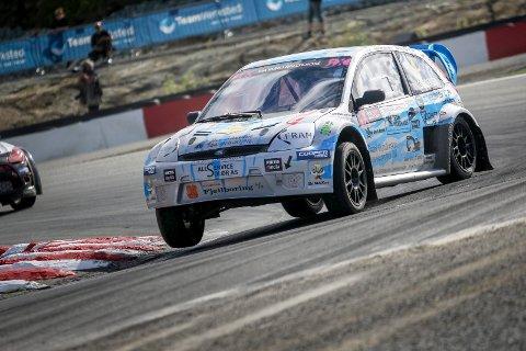 VANT: Ben-Philip Gundersen vant den siste EM-runden for sesongen i tyske Estering.