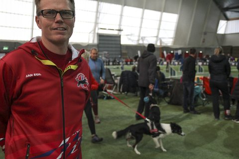 SJUENDE GANG: Initiativtaker til Norway Open i Kongsvinger, Jan Egil Eide, kan glede seg over 700 hunder og 23 nasjoner representert.