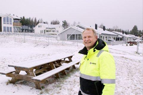 VIL HA TOMTER: Daglig leder i Nordbohus Kongsvinger, Per Gunnar Gjermshus, har opplevd stor etterspørsel etter boligtomter fra familier som vil flytte tilbake til Kongsvinger. FOTO: GLÅMDALEN (ARKIV)