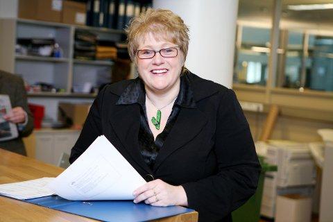 VIL KJEMPE FRAM STUDIEPLASSER: Trine Skei Grande (V) synes det er en strålende idé å utdanne bærekraftsøkonomer i Kongsvinger.