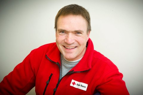 INFORMERER: Even Strømman, Eidskog Røde kors, oppfordrer også odølinger og solunger til å gjøre en innsats for Røde Kors.