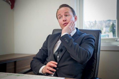 KIL-sjef Espen Nystuen. Herrefotball Kongsvinger. FOTO: JENS HAUGEN