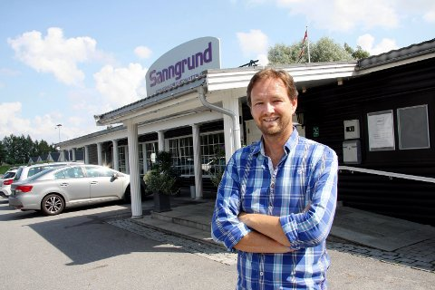 MILJØVENNLIG: Arne Udnesseter, daglig leder ved Sanngrund.