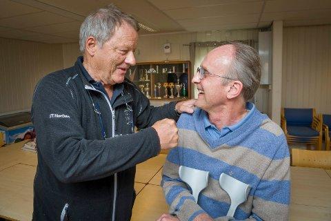 Terje Skogli fra Opakermoen var med og reddet Egil Arnesen fra å fryse ihjel.