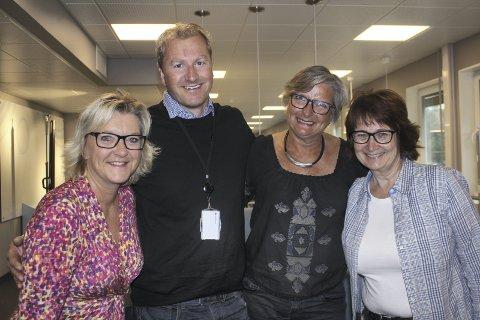 SATSER: Wenche H. Sund, Haakon Gjems, Astrid Østgaard og Anita S. Goplen i Grue kommune er offensive mot sankthansfeiringen fra 23. juni. Lørdag 24. juni settes det opp buss fra Oslo til Kirkenær.