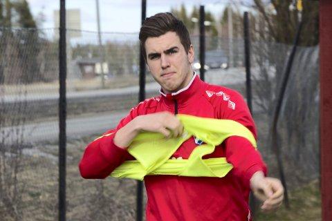 HARDT SKADET: FUVO-spiller Martin Bakkejord Skolbekken ble hardt skadd under jordskjelevet på Kos.