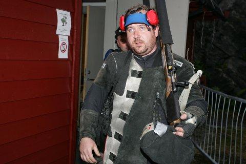 SKUFFET - OG MOTIVERT: Kristoffer Sannvoll nådde ikke målet om å få skyte i Kongelaget, men lovte å ta revansje i Stjørdal i 2018.