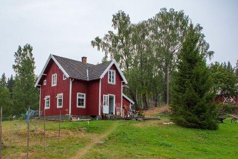 IDYLL: Bratuer ved Frysjøen brukes til sideproduksjonen Torpet i årets Farmen. Stedet ligger idyllisk til ved Frysjøen.