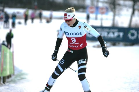 BEST AV DE LOKALE: Amalie Håkonsen Ous endte på 11. plass i prologen på Beitostølen.