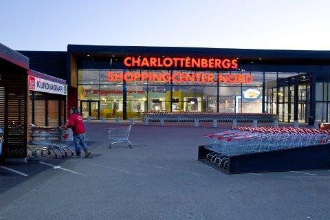 Øker: Charlottenbergs Shoppingcenter økte sin omsetning med over 200 millioner kroner i 2019, sammenlignet med 2018. Det viser ferske tall fra Olav Thon Gruppen, som eier kjøpesenteret.