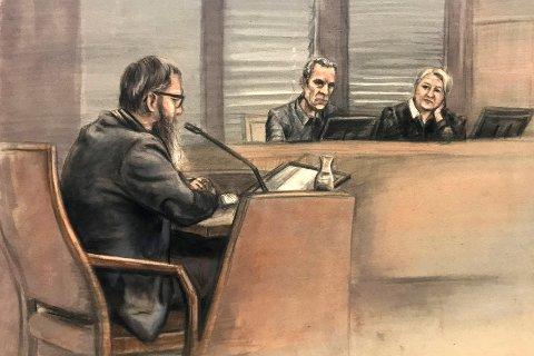 Hamar  20181113. Rettstegning av Janne Jemtlands ektemann som er dømt til 18 års fengsel på drap på sin kone, Janne Jemtland.