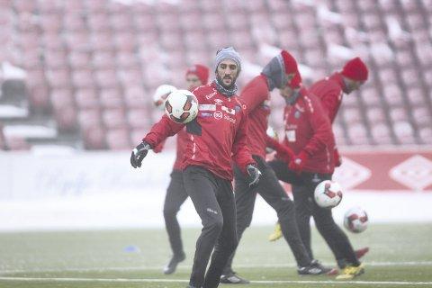 Vintertrening også i 2019: KIL Toppfotball gjentar fjorårets sesongoppkjøring på Gjemselund. Det er derimot ikke klart om klubben blir sittende igjen med en regning på en halv million for vintertreningen slik som i fjor.FOTO: ØYSTEIN ENGH (ARKIV)