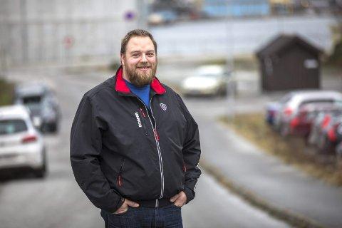 REDNINGSMANNEN: Arne Olav Eriksen var på rett sted til rett tid da Heidi Merete Ottesen fikk hjerneslag