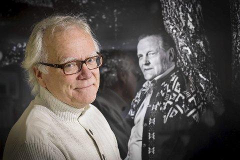 OVERVELDET: Sverre Eier, leder av Hans Børli-selskapet, er overveldet over hvordan lyrikeren er feiret et helt år til ende i store deler av landet.