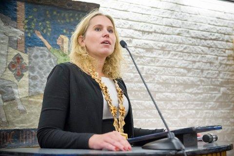 ORDFØRER I EIDSKOG: Kamilla Thue (Ap).
