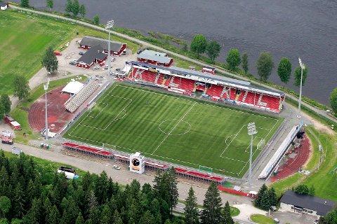 UTBEDRINGSBEHOV: Klubben ønsker nå å få i gang utvikling av området rundt stadion og at selve stadion skriker etter utbedringer på flere plan.