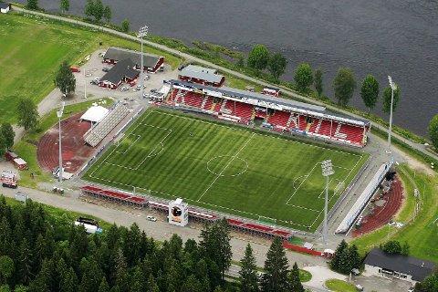 Historisk: Her er et flyfoto av Gjemselund for seks år siden. Om KIL Toppfotball og KIL Fotball får viljen sin, vil det kunne bli et «Nye Gjemselund». Foto: Ole-Johnny Myhrvold