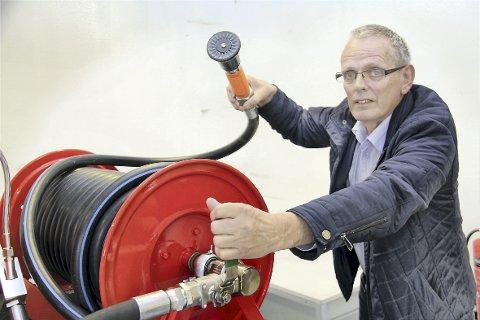 Brenner for slokking: Olaf Sigmundsson i Safety Service AS var en av dem som fikk godkjent sin skatteFUNN-søknad i 2017.