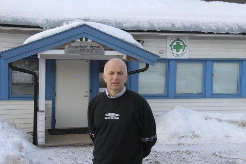 Ikke uventet: Jon Ivar Bergersen, leder ved mottaket, ble ikke overrasket av nedleggelsen.