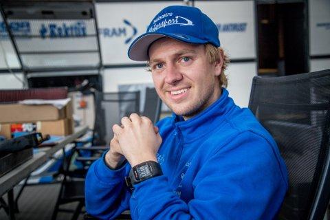 GIKK NED 17 KILO: Espen Isaksætre tar sin internasjonale rallycrosskarriere fullt på alvor.