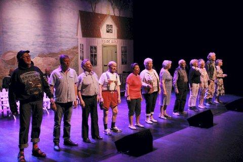 Populære: Seniorkabareten i Nes satte publikumsrekord i år.