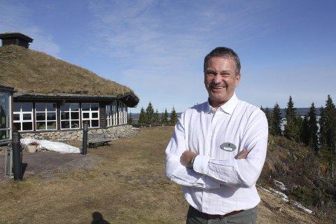 Leder: Kjell Magne Nordvi skal være daglig leder på Finnskogtoppen i nesten to år i forbindelse med svangerskapspermisjon. Han gleder seg til å utvikle stedet med lokalmat og nytt kjøkken.