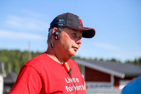 FORNØYD LEDER: Roger Bjørklund.