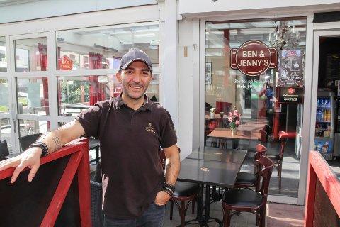 VURDERER SALG: Saro-Ben Saroyan vurderer å selge Ben & Jenny's, men bare om den rette melder seg.