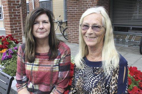 Flere støttekontakter: Mariann Livgaard i Åsnes kommune og Lillian Karlstad håper flere melder seg som støttekontakt. Karlstad har vært støttekontakt i mange år, og har i dag ti brukere som hun hjelper.