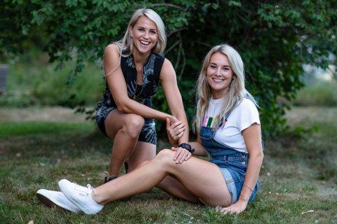 KJÆRESTER: tonje Frøystad Garvik (29) og Lene Sleperud (29) er kjærestepar som er med på Farmen. De holder forholdet skjult på gården.