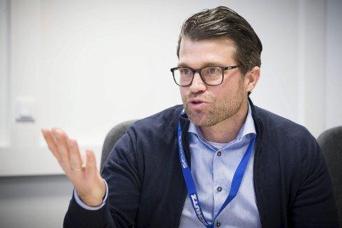 FORNØYD: Erik Platek, styreleder i 7Sterke, takker statsråden, men jobber kamp for raskere realisering.
