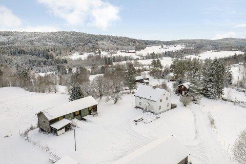 IDEALISTENES DRØM: På Vestfjell gaard i Eidskog er det plass å boltre seg på, om du har hunder, hester eller andre dyr. Det er et av få småbruk som er på markedet for tida. bilder