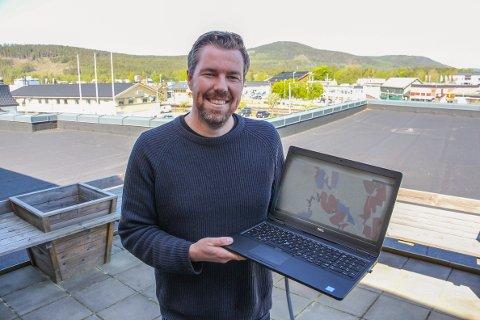 GRATIS: John Kristian Strand og Sør-Odal kommune gir deg gratis bredbånd.