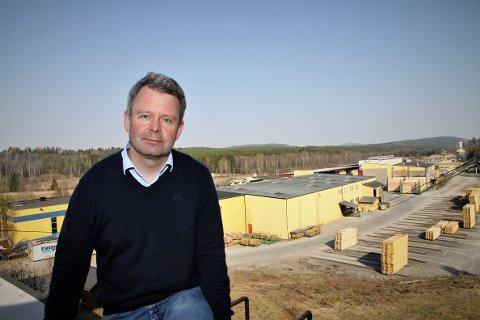 I MÅL: – Godt å komme i mål, selv om prosessen med veimyndighetene har tatt fem år, sier Per Morten Wangen i Eidskog Stangeskovene AS.