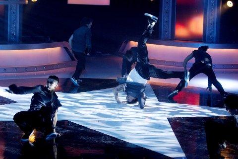 DANS: Dansegruppa KingWings Crew – med blant andre Trond André Hansen fra Riverud i ensemblet – skal opptre under festen i Storhallen i «Norges største reunion» i Kongsvinger lørdag 1. februar