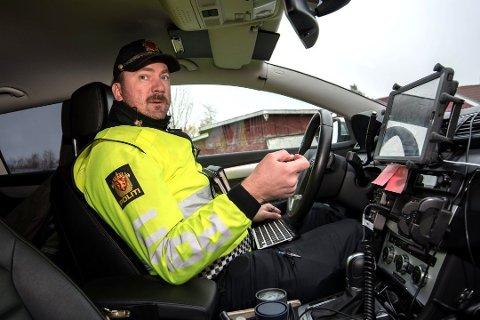 IKKE IMPONERT: UP-leder Stig Inge Bakken mener folk bør skjerpe seg etter resultatene fra dagens kontroll.