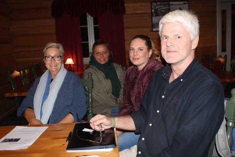 TOPP: Erik Ødegård har fått med seg blant andre Marit Figved, Tanja Gregersen og Pia Himberg på den nye bygdelisten.