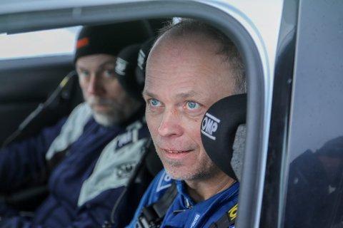 Stian Brøderud og kartleser Hans Petter Aarstad.