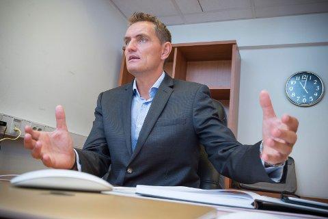 KLAR: Henrik Mohn er klar for listetoppen for Miljøpartiet De Grønne i Kongsvinger.