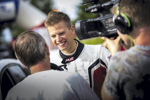 FÅR KJØRE EM: Steve Røkland har fått på plass en avtale med M-Sport som gjør ham til fabrikkfører i den første EM-runden i rally på Azorene.