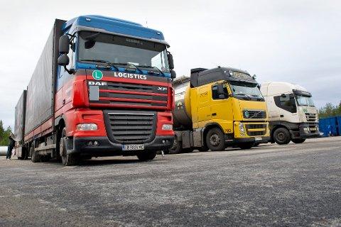 Det er stort behov for døgnhvileplasser for yrkessjåfører i Kongsvinger-området.