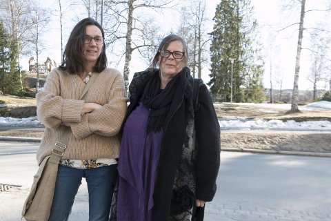 TOPPKANDIDATER: Rødt stiller liste både i Sør-Odal og Kongsvinger i høst. Toppkandidater er Kari Grinden Lilleseth (til venstre) og Torunn Arnesen. – Vi skal være et skarpt og tydelig alternativ på venstresiden, sier de.
