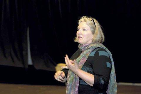 SLÅR ALARM: Personvernombud Elisabeth Kokkin Koppe i Kongsvingerregionen.