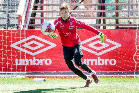KOMETEN: Andreas Smedplass har imponert stort etter at han overtok keeperplassen etter skadde Ali Ahamada.
