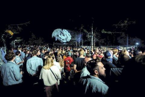 Norges koseligste: Grustaket på Disenå er landskjent for Audunbakkenfestivalen og den intime konsertarenaen. foto: privat