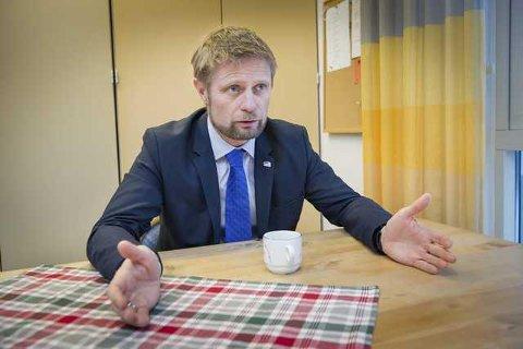 GLEDER SEG: Helseminister Bent Høie gleder seg til årets utgave av Finnskogdagene, der han får en sentral rolle.