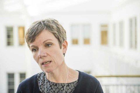 GJENVALGT: Marit Hermansen er gjenvalgt som presiden i Den norske Legeforeningen.