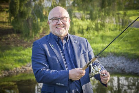 UTFORDRER: Kjell Jevne drømmer om å gjøre et godt valg og komme i posisjon, gjerne med ordfører fra Høyre. FOTO: JENS HAUGEN
